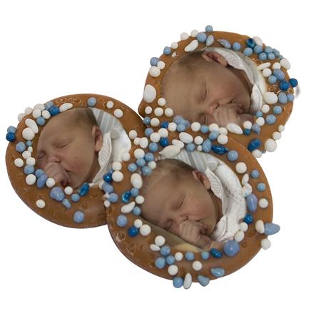Chocolade Bonbon Geboorte -met foto
