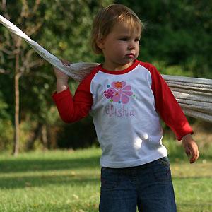 t-shirt meisje lange mouw