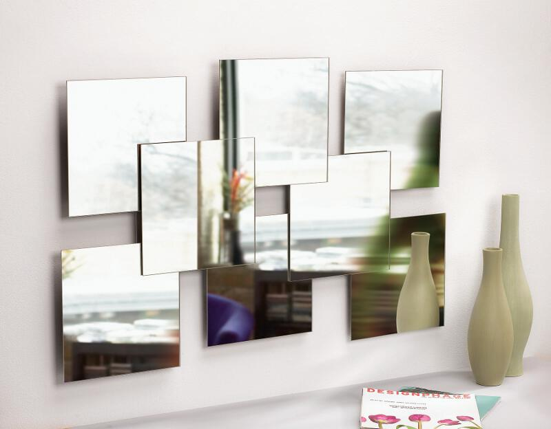 Multi spiegel als decoratie for Miroir design pour salon